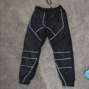 Pretty little thing reflective jogger pants